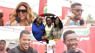Roselyn Ngissah Throws birthday party for street kids