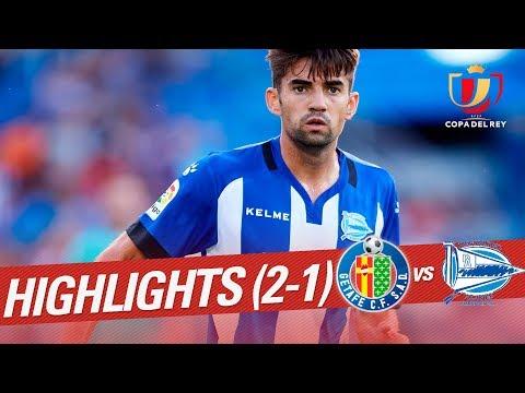 Resumen de Getafe CF vs Deportivo Alavés (0-1)