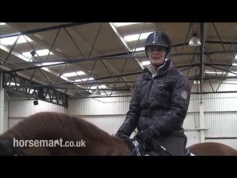 How to ride a travers (haunches-in) in dressage