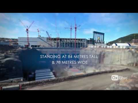 Muskrat Falls - Powerhouse Construction 2017