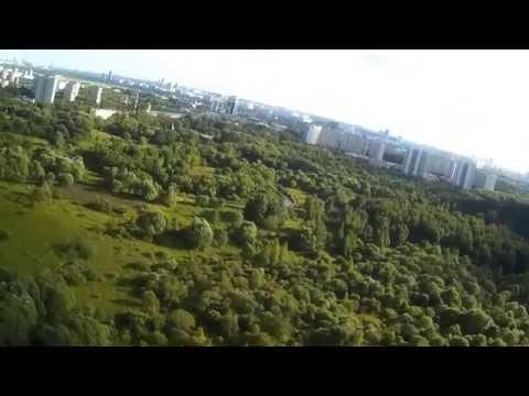 SkyHunter FPV Moscow flight