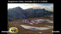 Kühtai Drei-Seen-Bahn webcam time lapse 2011-2012