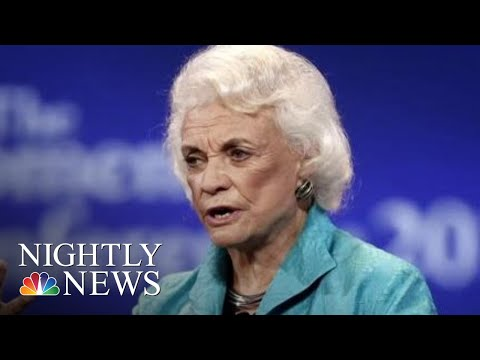 Sandra Day O'Connor Announces Probable Alzheimer's Diagnosis | NBC Nightly News