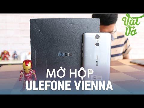 Vật Vờ Mở hộp Ulefone Vienna: âm thanh Hi Fi, vân tay nhạy, 3GB RAM