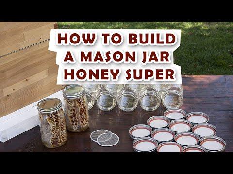 Mason Jar Honey Super