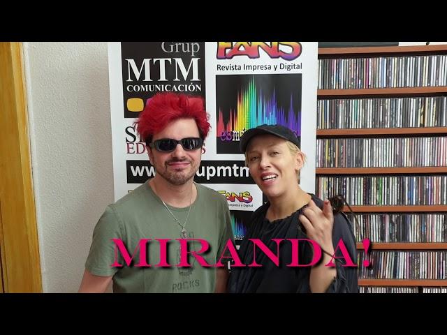 Miranda! - Video-Saludo para los oyentes de esmiradio.es