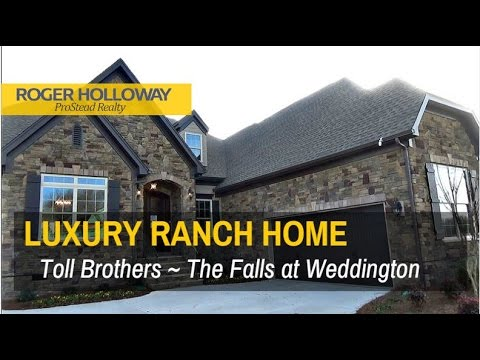 Luxury Ranch Homes for Sale in Charlotte NC - Falls at Weddington