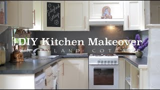 DIY Kitchen Makeover - Low Budget - Low Waste - Fairyland Cottage