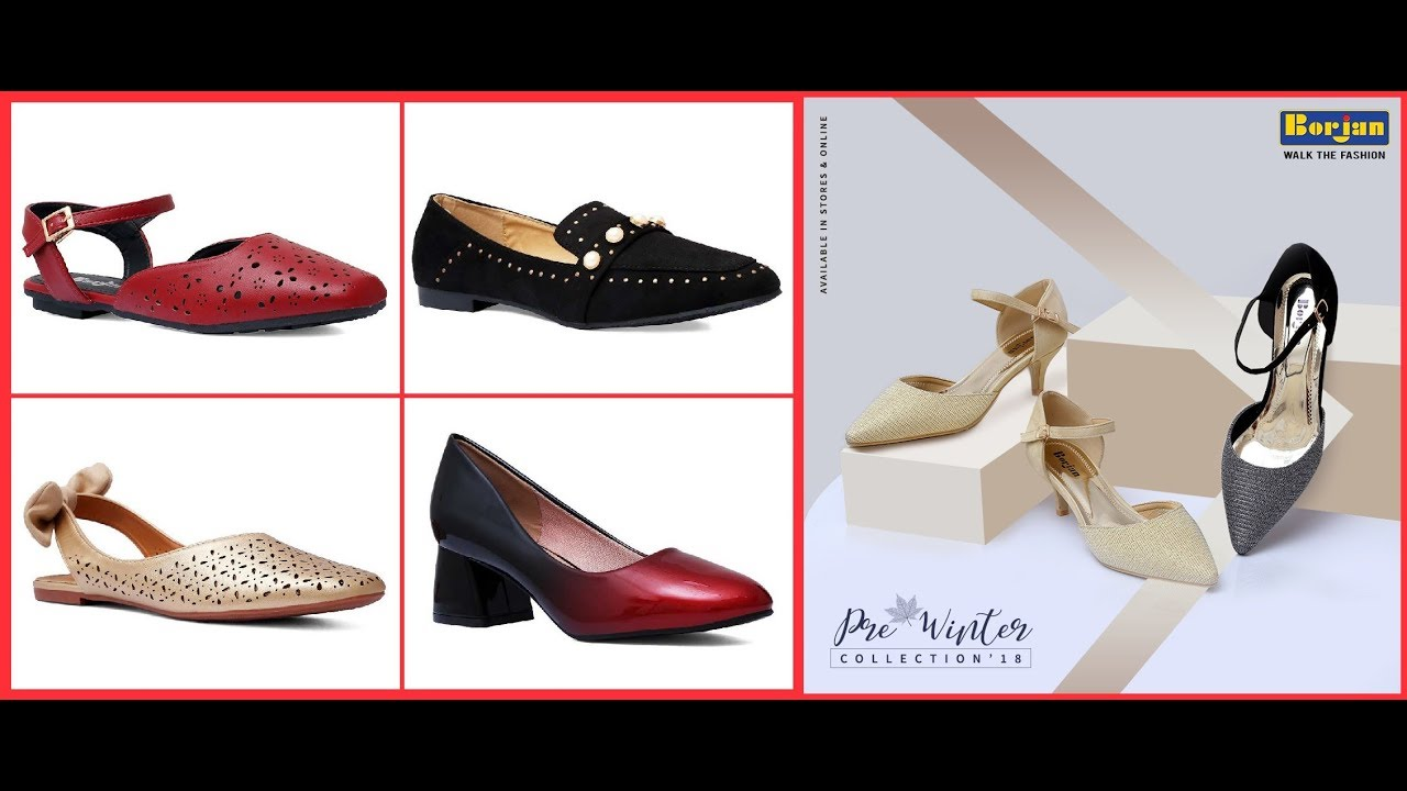 03c822e1847 BORJAN Shoes Pre Winter Ladies Footwear Collection 2018-19