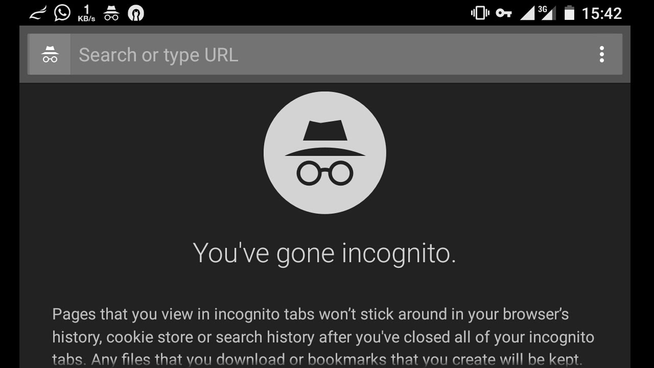 how to open incognito window in chrome