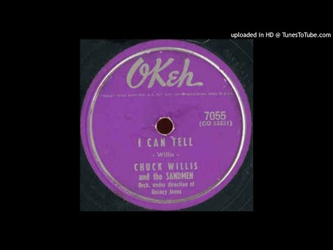 CHUCK WILLIS   I Can Tell   78   1955