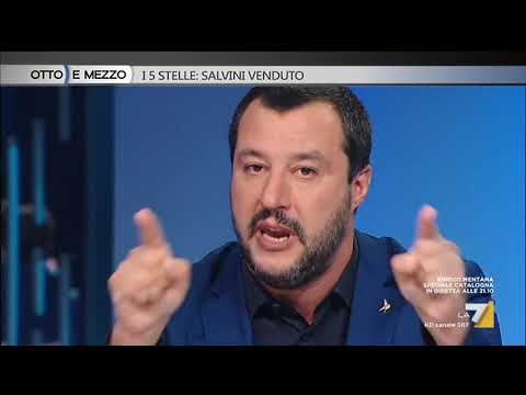 Otto e mezzo - I 5 Stelle: Salvini venduto (Puntata 11/10/2017)