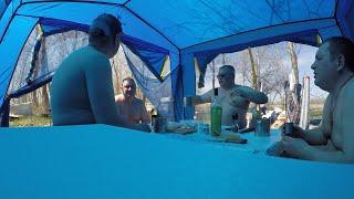 Рыбалка на Ахтубе. Апрель. часть 1.
