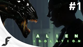 Alien Isolation Walkthrough Part 1 - Welcome to Hell!