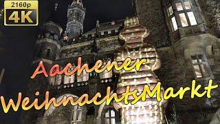 Aachener Weihnachtsmarkt - Germany 4K Travel Channel