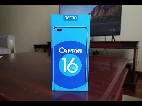 TECNO Camon 16 Premier Unboxing