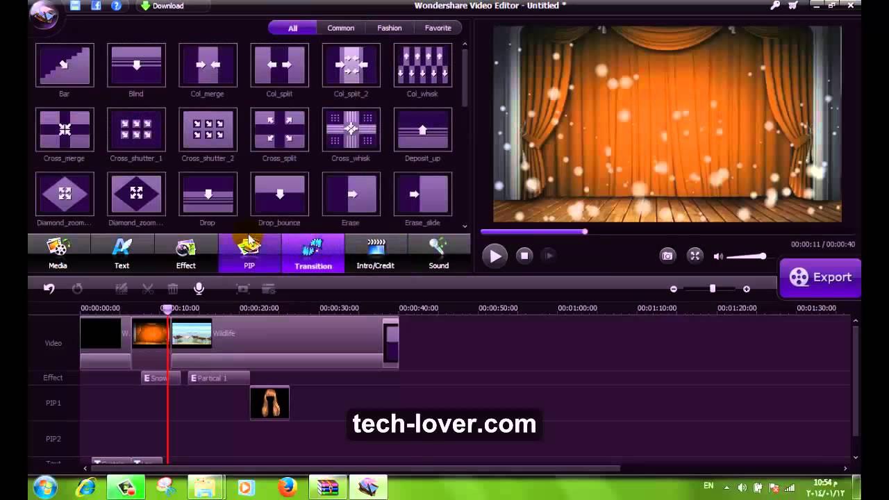youcut video editor للكمبيوتر