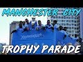 MANCHESTER IS BLUE! MAN CITY DOMESTIC TREBLE - CHAMPIONS PARADE 2018/19