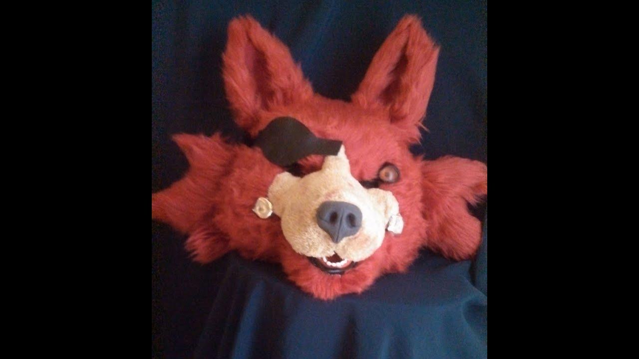 Fnaf freddy head for sale - Five Nights At Freddy S Foxy Fursuit Head