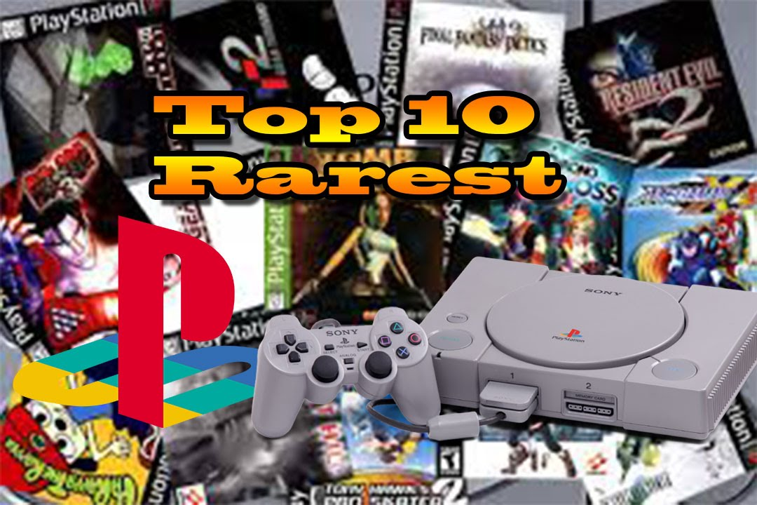 Top 10 Rares PS1 Games   Most Expensive PS1 Games Ever   YouTube