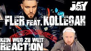 FLER feat. KOLLEGAH - Kein Weg Zu Weit I REACTION