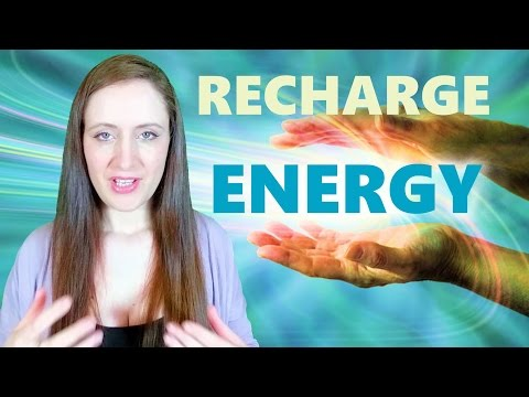10 Ways To RECHARGE Your ENERGY For Spiritual & Energy Work