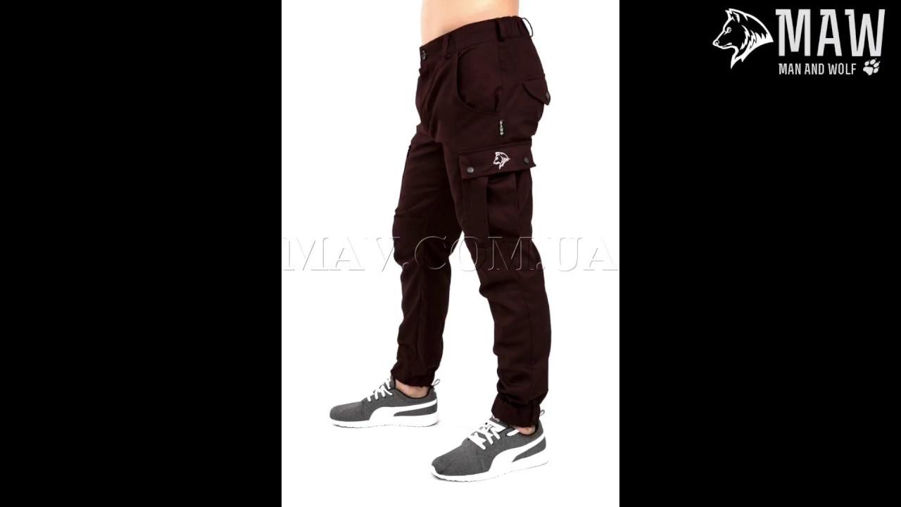 Плащевые брюки на флисе на осень - YouTube