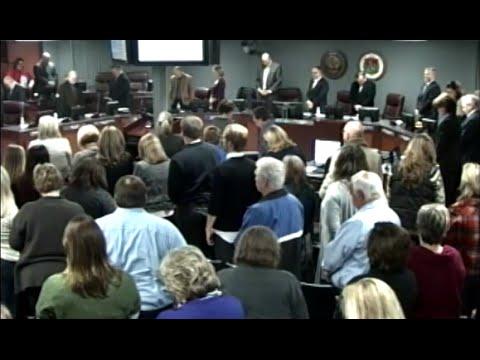 Williamson County School Board Meeting - November 2014