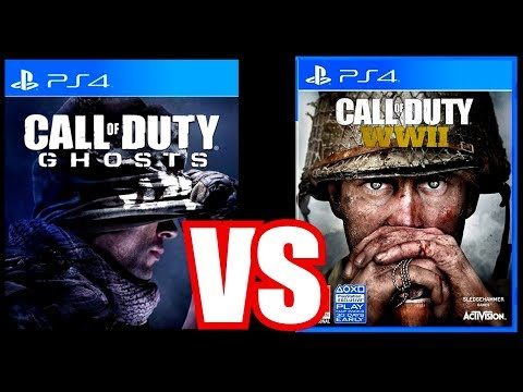 COD GHOSTS is Better Than Call of Duty World War 2 (10 REASONS WHY)