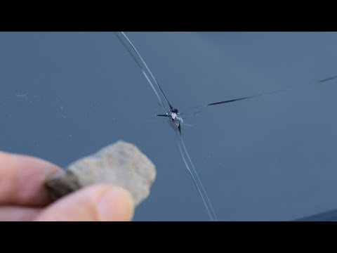 How To Repair A Chipped Or Cracked Windshield