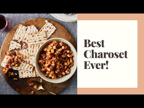 How to Make the Best Charoset Ever