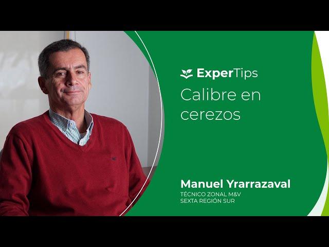 Expertip: Calibre en Cerezos.