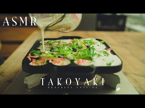 [ASMR] How to Make Takoyaki