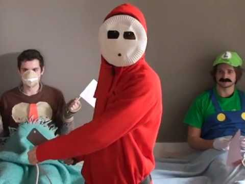 Mario Party In Real Life: Shy Guy Says