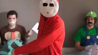 mario party in real life shy guy says