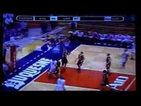 Leechburg Blue Devils WPIAL Basketball Championship Game 2007