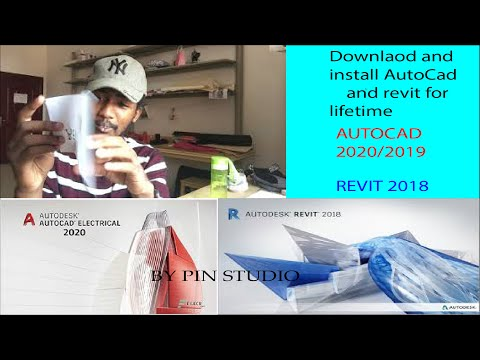 Downlaod and Install AutoCad 2020/2019 & Revit 2018 (64bit) for life time