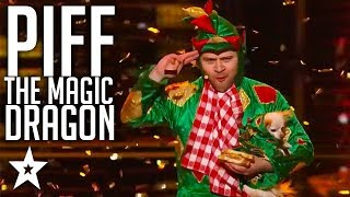 Best Magic Dragon on America's Got Talent | All Performances | Got Talent Global