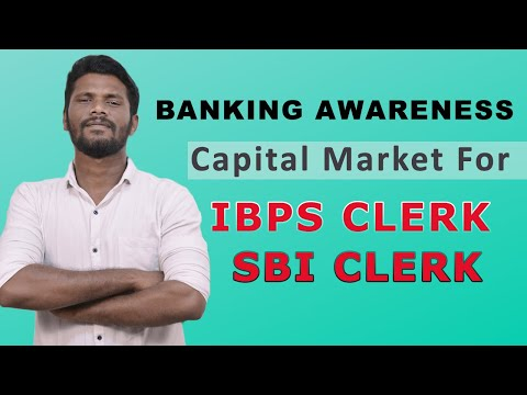 CAPITAL MARKET | FIRST TIME IN TAMIl | BANKING AWARENESS | IBPS CLERK | SBI CLERK | Mr.Jackson