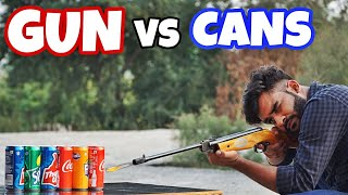 BANDOOK VS COLD DRINK CAN