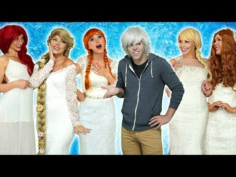 SHOULD JACK FROST MARRY ELSA ANNA OR RAPUNZEL? Or Ariel or Belle Totally TV