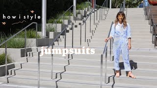 STYLE: How I wear jumpsuits! (also HI, I'm back!)