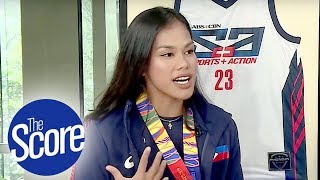 Dzi Gervacio Emotional After SEA Games Bronze Medal for Beach Volleyball | The Score