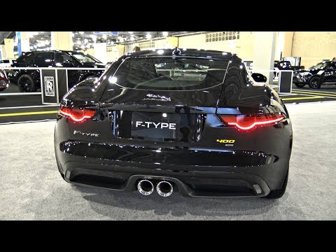 2018 Jaguar F-Type 400 AWD SUPER CAR 400HP POV Review