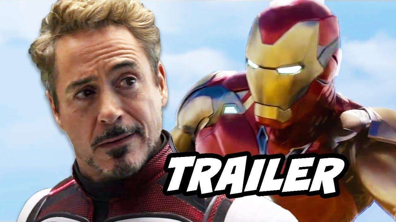 avengers endgame trailer - iron man captain america scene easter eggs  breakdown