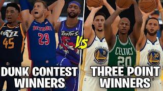 Team of Dunk Contest Winners vs Team Of Three Point Contest Winners! | NBA 2K19