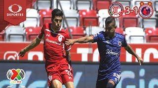 Resumen Toluca 3- 1 Veracruz | Clausura 2019 - Jornada 9 | Televisa Deportes