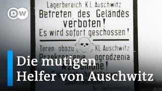 'Es war sehr gefährlich': Die mutigen Helfer von Auschwitz   DW Deutsch