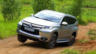 Тест нового Mitsubishi Pajero Sport(Mitsubishi Pajero не будет — нынешнее четвертое поколение проживет еще год и уйдет на покой. Флагманом модельной..., 2016-08-25T13:59:25.000Z)