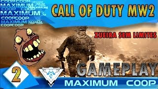 CALL OF DUTY: MODERN WARFARE 2 #2 - ZUEIRA SEM LIMITES! / PT-BR 1080p 60fps